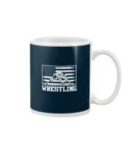 Wrestling America Flag Mug thumbnail