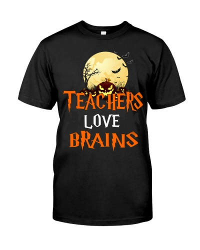 Teachers Love Brains Halloween