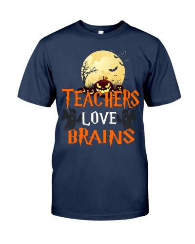 Teachers Love Brains Halloween
