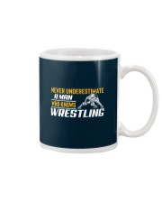 Man Knows Wrestling Mug thumbnail