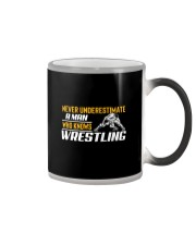 Man Knows Wrestling Color Changing Mug thumbnail