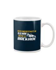Old Man With A Backhoe Mug thumbnail