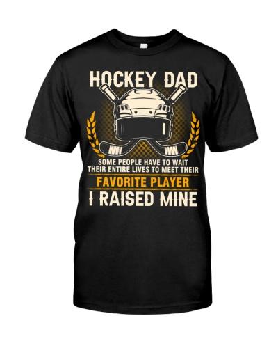Hockey Dad I Raised Mine