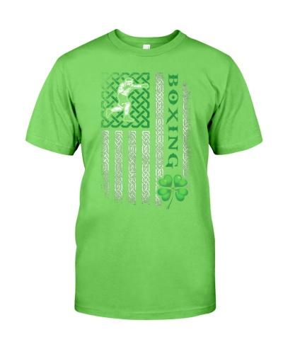Boxing Irish American Flag