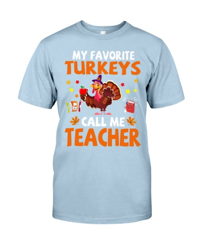 Call Me Teacher Thanksgiving