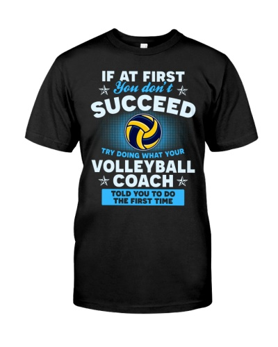 Volleyball Coach Succeed