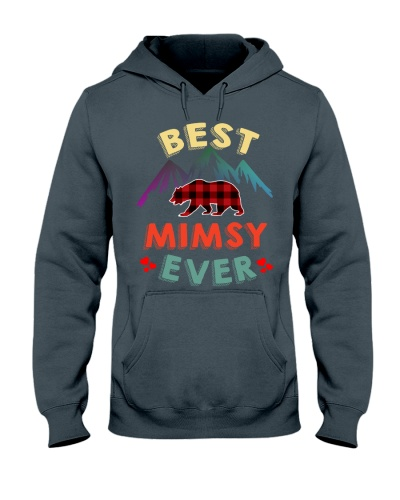 Best Mimsy Bear Ever Xmas Red Plaid