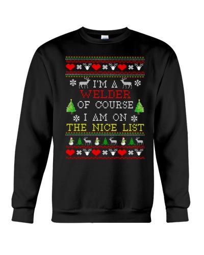 Welder Ugly Christmas