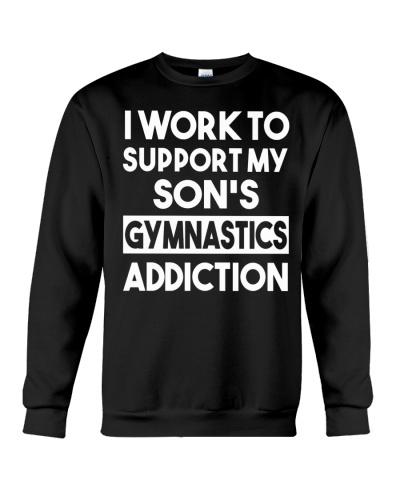 I Work To Support My Son's Gymnastics