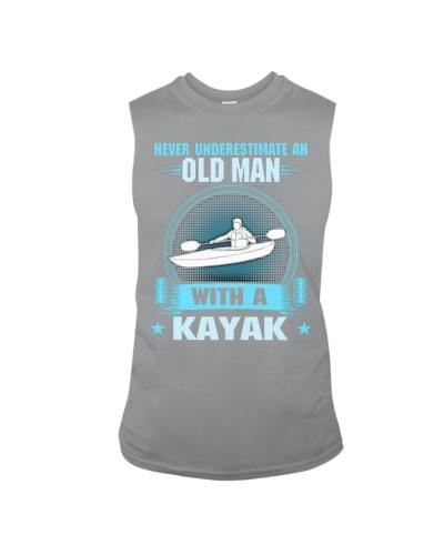 Old Man With Kayak