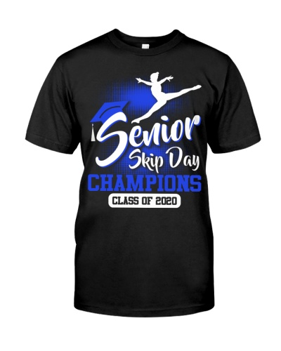 Gymnastics-senior 2020 Skip Day Blue