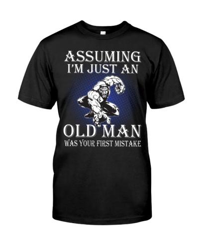 Wrestling Old Man