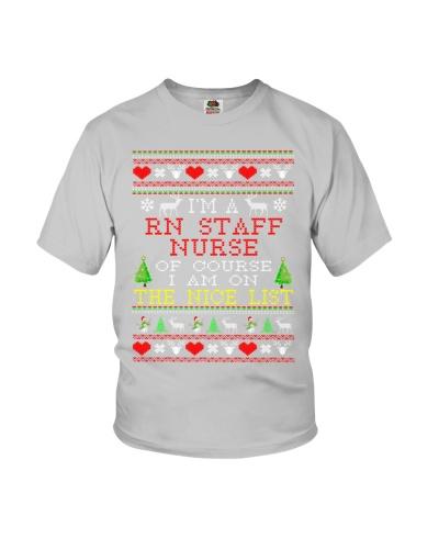 Rn Staff Nurse Ugly Christmas