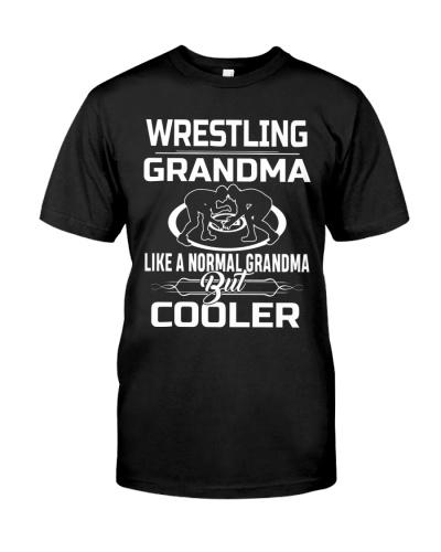 Wrestling Grandma Cooler