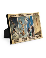Volleyball Be Strong 10x8 Easel-Back Gallery Wrapped Canvas thumbnail