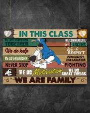 Brazilian Jiu-jitsu In this class 17x11 Poster aos-poster-landscape-17x11-lifestyle-12