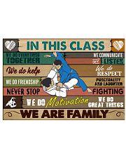 Brazilian Jiu-jitsu In this class 17x11 Poster front