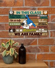 Brazilian Jiu-jitsu In this class 17x11 Poster poster-landscape-17x11-lifestyle-23