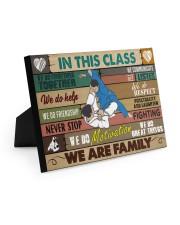 Brazilian Jiu-jitsu In this class 10x8 Easel-Back Gallery Wrapped Canvas thumbnail