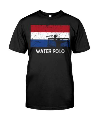 Netherlands Flag Water Polo
