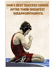 Wrestling Success Comes Poster 11x17 Poster front