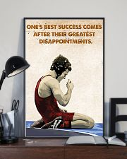 Wrestling Success Comes Poster 11x17 Poster lifestyle-poster-2