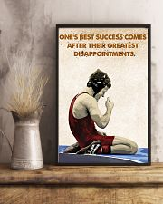 Wrestling Success Comes Poster 11x17 Poster lifestyle-poster-3