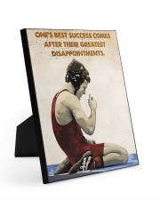 Wrestling Success Comes Poster 8x10 Easel-Back Gallery Wrapped Canvas thumbnail