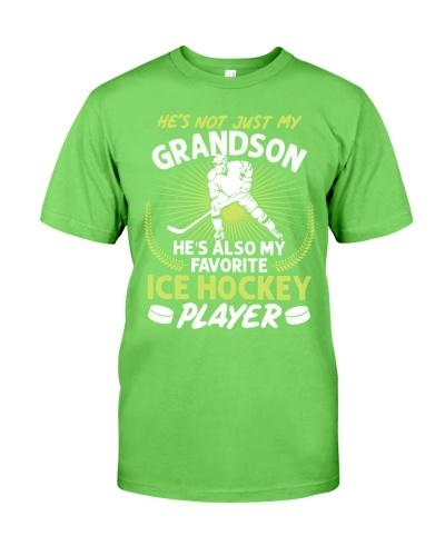 Grandson Ice Hockey Player