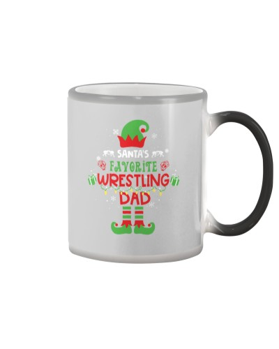 Santa's Favorite Wrestling Dad