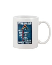 Wrestling Success Canvas Mug tile