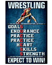 Wrestling Success Canvas Vertical Poster tile