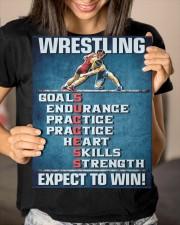 Wrestling Success Canvas 11x14 Gallery Wrapped Canvas Prints aos-canvas-pgw-11x14-lifestyle-front-23