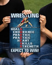 Wrestling Success Canvas 11x14 Gallery Wrapped Canvas Prints aos-canvas-pgw-11x14-lifestyle-front-50