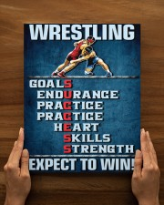 Wrestling Success Canvas 11x14 Gallery Wrapped Canvas Prints aos-canvas-pgw-11x14-lifestyle-front-54