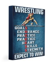 Wrestling Success Canvas 11x14 Gallery Wrapped Canvas Prints front
