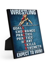 Wrestling Success Canvas 8x10 Easel-Back Gallery Wrapped Canvas thumbnail