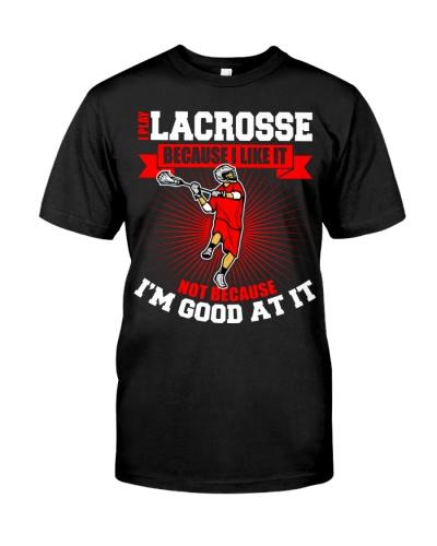 I Play Lacrosse