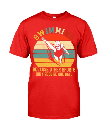 Swimming Not Require One Ball