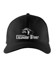 Excavator Driver Embroidered Hat front