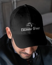 Excavator Driver Embroidered Hat garment-embroidery-hat-lifestyle-02