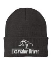 Excavator Driver Knit Beanie tile