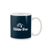 Excavator Driver Mug tile