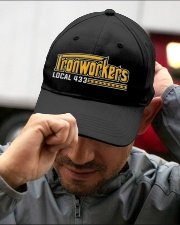 Ironworker Local 433 Embroidered Hat garment-embroidery-hat-lifestyle-01