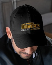 Ironworker Local 433 Embroidered Hat garment-embroidery-hat-lifestyle-02