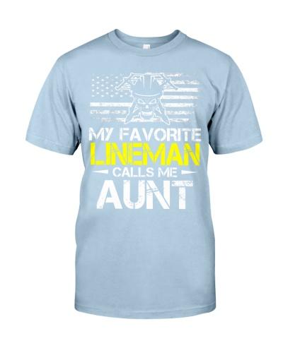 My Favorite Lineman Calls Me Aunt
