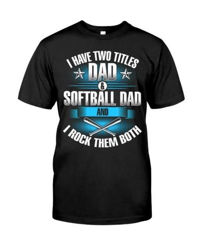 Dad and Dad Softball