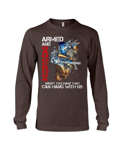 Lineman Armed and Dangerous