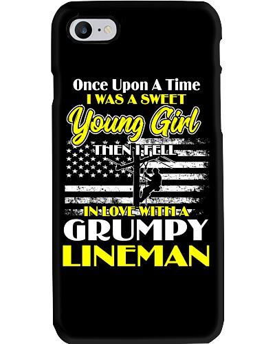 Sweet Young Girl In Love Grumpy Lineman