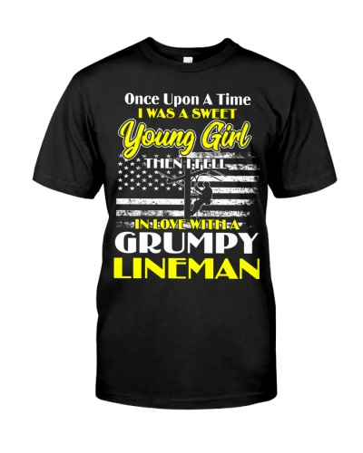 Sweet Young Girl In Love Grumpy Lineman